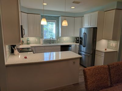 New flooring ,cabinets and countertops