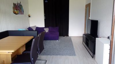 Photo for 35sqm apartment on the slopes incl. pool