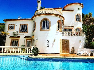 Photo for Villa Benitachell Javea Moraira, 8 / 10p, Private Pool, Air conditioned, WIFI