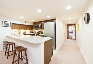 You'll feel right at home with a full kitchen, large living room, and more!