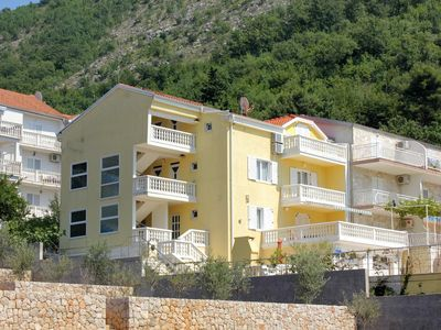 Photo for One bedroom apartment with balcony and sea view Slano (Dubrovnik)
