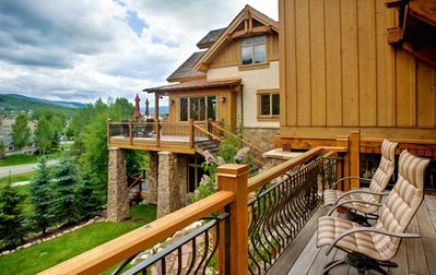 Photo for Luxurious Private home, Bar, theatre Seating and new Hot Tub