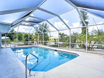 Photo for NEW! Modern St. James City Home w/Pool & Boat Dock