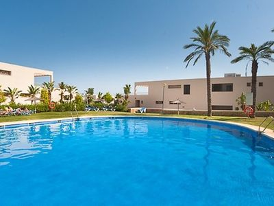 Photo for 3 bedroom Apartment, sleeps 6 in Marbella with Pool, Air Con and WiFi