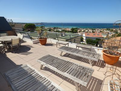 Photo for sea view, beautiful apartement of 80 m ²