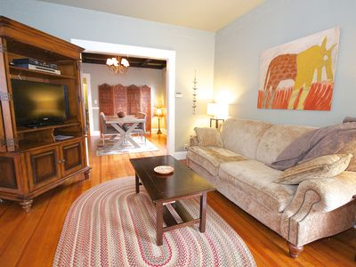 Photo for Family friendly, quiet, close to train, hospitals & downtown Boston