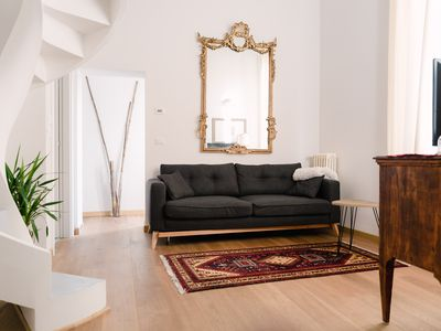 Photo for Central, elegant and new apartment in the heart of Bologna