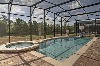 Your getaway to the Sunshine State begins when you book this 7-bed, 6-bath home.