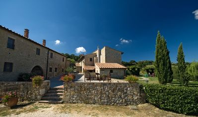 Photo for 2BR Farmhouse Vacation Rental in Castel San Gimignano, Tuscany