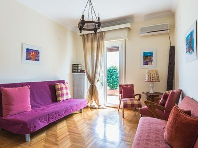 Photo for Central Athens Loft with Large Terrace