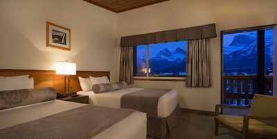 Photo for Rocky Mountain Ski Lodge - Two Double Beds