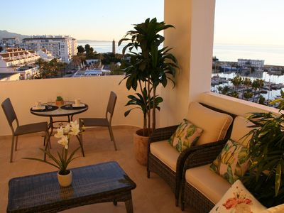 Photo for ¡LUXURY, VIEWS, LOCATION! CLIM, WIFI, INTERN. TV CHANNELS. 25% DISC. WINTER