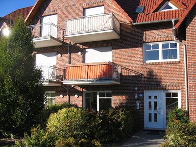 Ferienapartment links vom Eingang