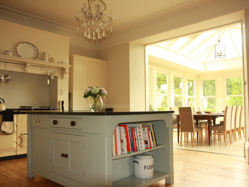 Gorgeous Modern Country kitchen with grey and cream colour scheme