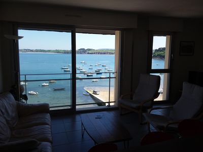 Photo for 2 bedroom apartment, modern, amazing sea views and old port