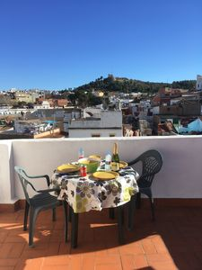 Photo for Townhouse with roof terraces and lovely views across old town