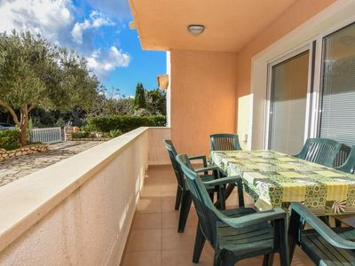 Photo for Three bedroom apartment with terrace Mandre, Pag (A-18273-e)