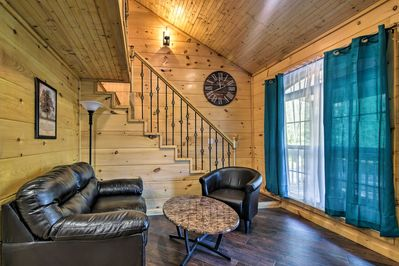 Comfort and convenience collide at this 2-bedroom, 1-bath Roan Mountain cabin!