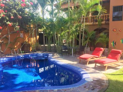 Photo for Charming Garden Apartment in the Heart of La Cruz
