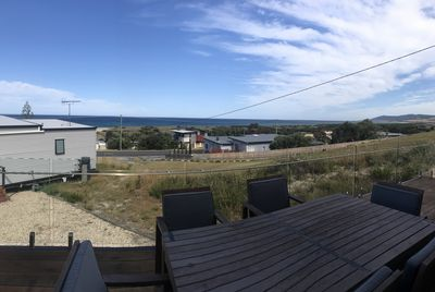 View overlooking Falmouth to the south from the Unit 2's deck