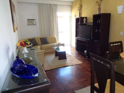 Photo for Apartment in Rio de Janeiro with Lift, Parking, Internet, Washing machine (1023178)