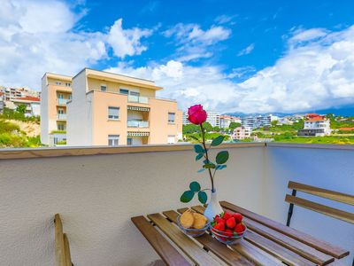 Photo for Close to Znjan beach, spacious studio with balcony