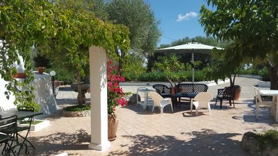 Photo for Enchanting Villa - Old Country House in magic ancient olive grove.