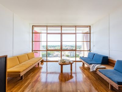 Photo for Superb Duplex Le Corbusier with sea view