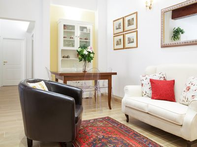 Photo for Beautiful, Bright, Spacious in Historic Bologna, great atmosphere, renovated