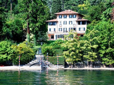 Photo for Villa Camilla is a luxury villa in Lake como with wonderful private park perfect for wedding, 8 bedr