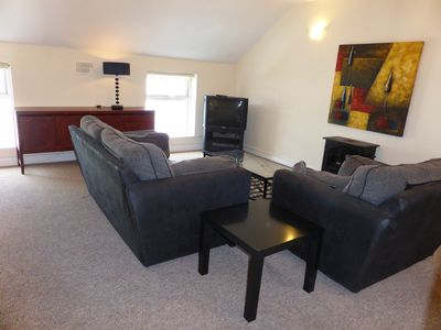 Photo for Two Bedroom Apartment in Heart of Historic Town - stone's throw to all amenities