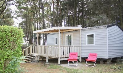 Photo for Mobilhome in Calm Park View Camping du Conguel 4 *