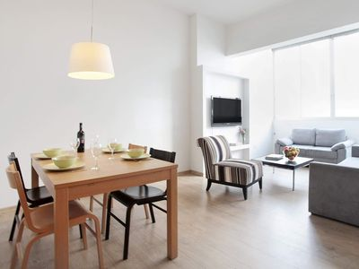 Photo for PINSKER  ST MODERN APARTMENT CLOSE TO THE BEACH.