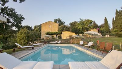 Photo for Agriturismo La Tinaia, charming apartment, very close to Florence, views, calm