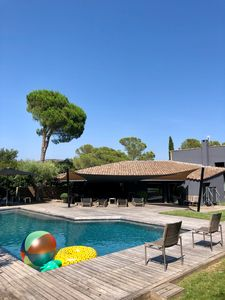 Photo for Superb Villa in St Raphaël 220 m2 + swimming pool any comfort close sea and golf
