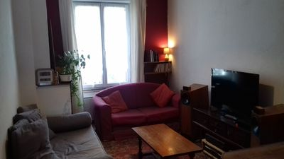 Photo for 2 rooms of 40 m2 near the train station Part Dieu, sunny and very quiet
