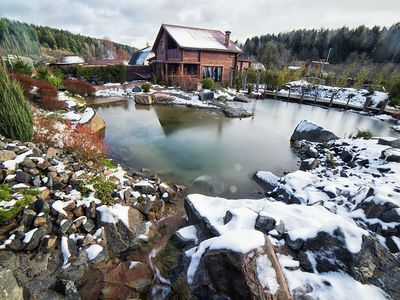 Photo for Red Cat H. is perfect for holidays in the nature near Minsk & skiing in Silichi.
