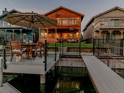 Photo for Tahoe Keys Waterfront house, living at it's finest!