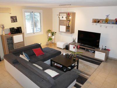 Photo for Beautiful air-conditioned house quiet / fully equipped with a large terrace