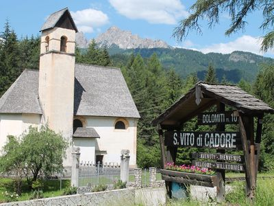Photo for Typical Tabià in the heart of the Cadore 99mq near Cortina