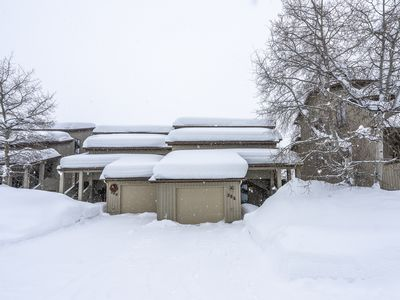 Photo for NEW LISTING! Dog-friendly golf course condo with a shared pool and a hot tub!