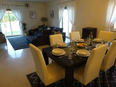 Spacious social areas to suit couples and families