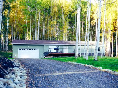 Photo for Cozy, quiet house in Fairbanks Foothills