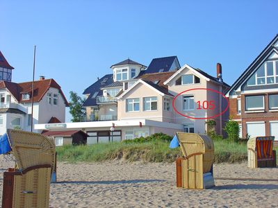 Photo for Beach 109, 3 BR.Apartment with partial lake view for 2 - 4 Pers you on the beach