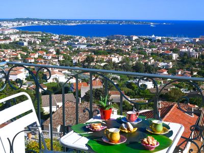 Photo for Luxurious studio sea view panoramic benefits of great comfort and calm absolute