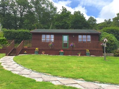 Photo for 1 bedroom Log Cabin in Looe - NUTHA