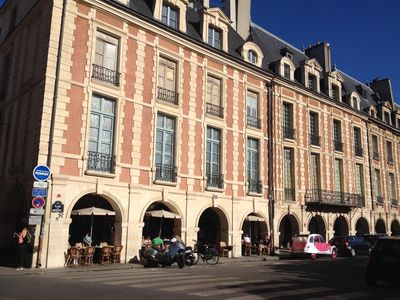 Photo for PLACE DES VOSGES Paris Centre, 4th arrondissement in the heart of the historic Marais
