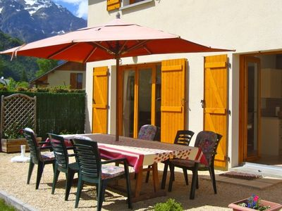 Photo for Bourg d'Oisans, House-Well Furnished, Stunning Views, next to Town/Piscine. WIFI