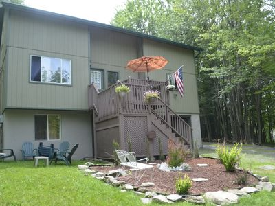 Photo for Spacious Hideout Home: Lots of space, lots of family fun activities