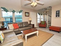 Spacious, updated condo, just steps from the beach!